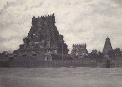 Great Pagoda from the Fort glacis [Brihadishvara Temple, Thanjavur]